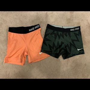 Nike spandex bundle